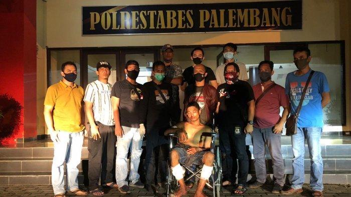 KITING tak Berkutik Dikepung Tim Tekab 134 Polrestabes Palembang, DPO Kasus Curas Ini Keok Ditembak