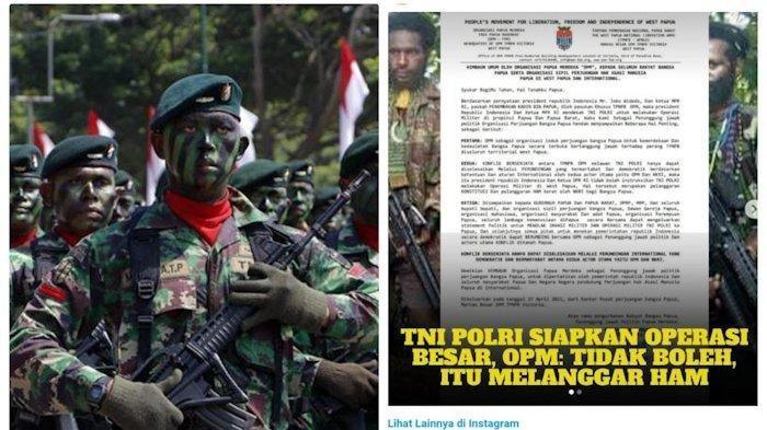 NYALI KKB Papua Rontok, TNI-Polri Kerahkan Pasukan Besar Tumpas: Legakak Telenggen Lari Masuk Hutan