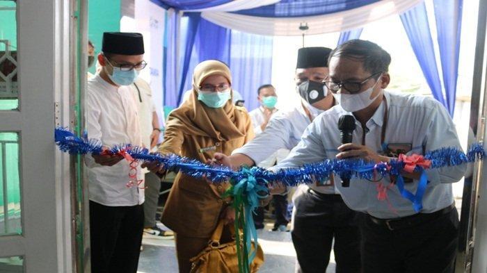 YBM PLN UIW S2JB Belanjakan Yatim Dhuafa dan Resmikan Klinik Cahaya Pratama bagi Warga Kurang Mampu