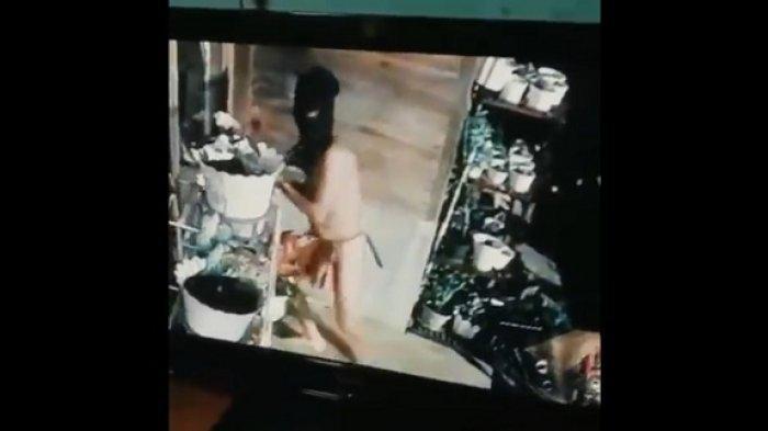 TEREKAM CCTV, Ilmu Sakti Kolor Ijo Luntur, Korban Kenali Pelaku Meski Bertopeng