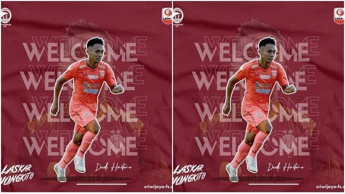 Tambah Kreativitas Lini Depan, Sriwijaya FC Resmi Rekrut Eks Pemain Borneo FC