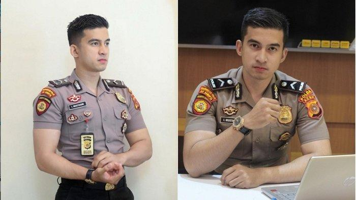 Sosok Bripda Mustakim, Polisi Ganteng yang Digoda Ayu Ting Ting, Calon Istri Bikin Fans Patah Hati