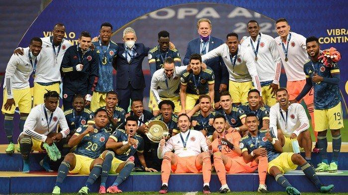 Tumbang Oleh Lionel Messi cs di Copa America 2021, Kolombia Dapat Gelar Pelipur Lara dengan Dramatis