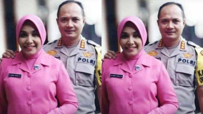 Rumah Duka Istri Kapolrestabes Barelang di Pakjo Palembang Sudah Dipenuhi Papan Bunga