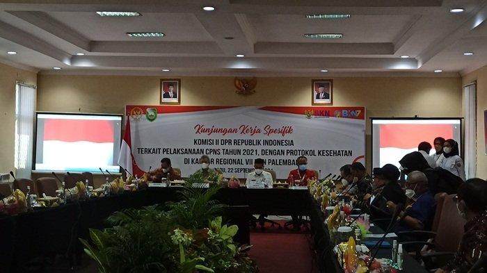 DPR RI Beri 3 Catatan Untuk Pelaksanaan Tes CPNS di Sumsel, Ini Masalahnya: Patut Dicontoh