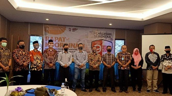 KPU Musirawas Gelar Rakor Pencalonan Bersama Forkopimda dan Partai Politik