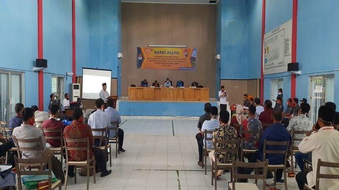 KPU Musirawas Gelar Pleno Rekapitulasi Verifikasi Faktual Bakal Calon Perseorangan