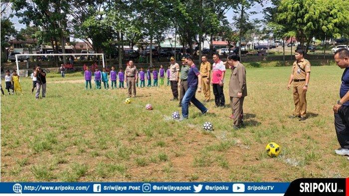 35 Tim Ikuti Kompetisi Sepak Bola Piala Walikota Tingkat SD/MI se Pagaralam