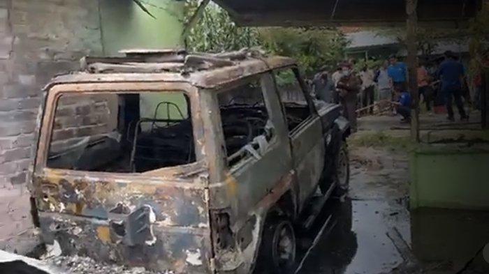 Kebakaran Kompleks Rumah Dinas TNI Kalidoni Palembang, Pensiunan TNI Sigap Selamatkan 2 Cucu & Istri