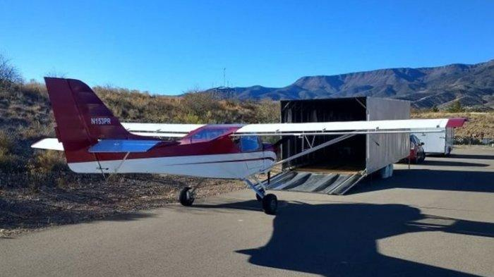 Komplotan Pencuri Larikan Pesawat Terbang di Amerika ...