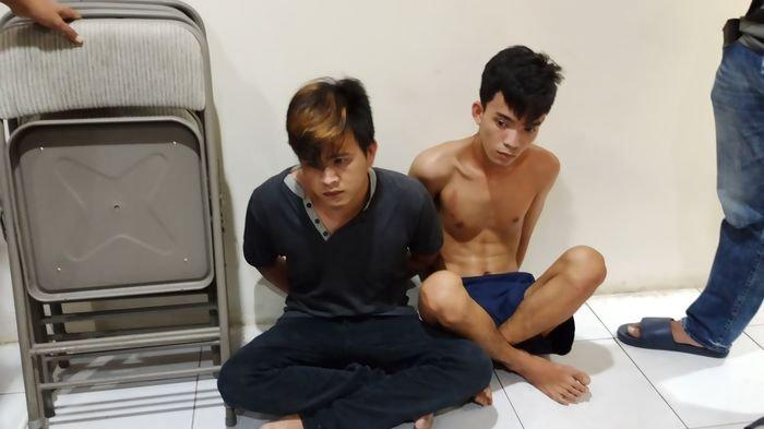 Dua Komplotan Pencurian Motor di Palembang Ditangkap, todongkan parang untuk menakuti korban, Senin (14/9/2020)