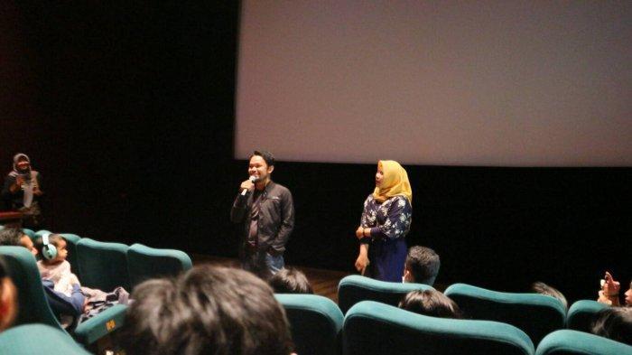 Komunitas Film FISIP Universitas Sriwijaya Gelar Nobar Bongkar Tengkorak Bersama sang Sutradara