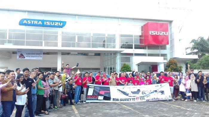 Komunitas IL&F Jajal Ketangguhan 17 Mobil Isuzu mu-X Sabang-Surabaya