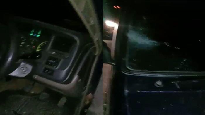 Awas, Aksi Lempar Batu di Tol Kayuagung-Palembang, Mobil Jadi Penyok Hingga Kaca Pecah
