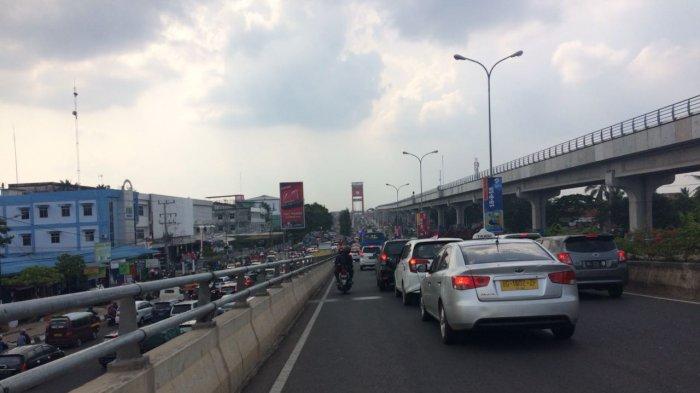 Hari Pertama Pemberlakuan Buka-Tutup Jalan, Kondisi Jalanan Palembang Lancar