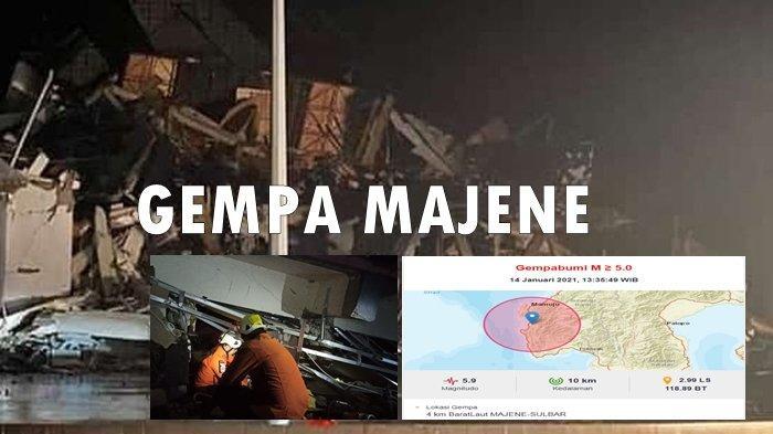 Cerita Pasien Tertimpa Runtuhan RS, Kantor Gubernur Ambruk, Ribuan Warga Ngungsi Pasca Gempa Majene