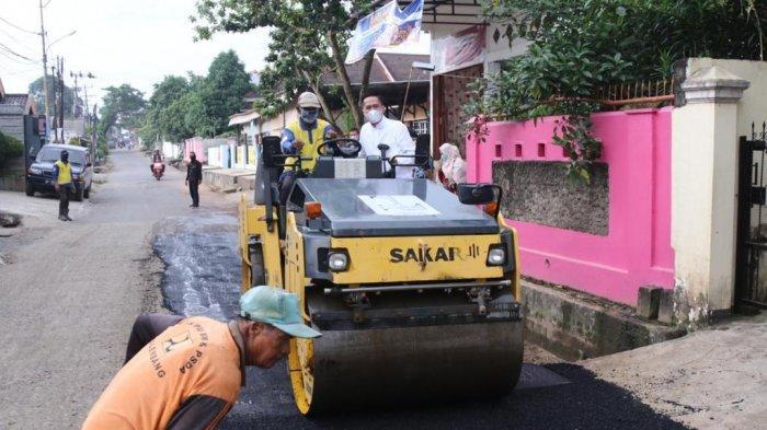 SEKDA Ratu Dewa Turun Langsung Cek ke Lokasi, Kini Jalan Sukorejo 8 Ilir Palembang Mulus Kembali