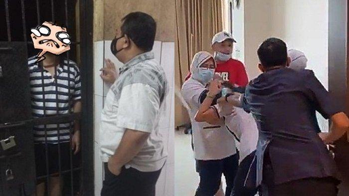 Empat Hari di Penjara, Kondisi Penganiaya Perawat RS Siloam tak Terduga, Wajah Pucat, tak Lagi Gagah