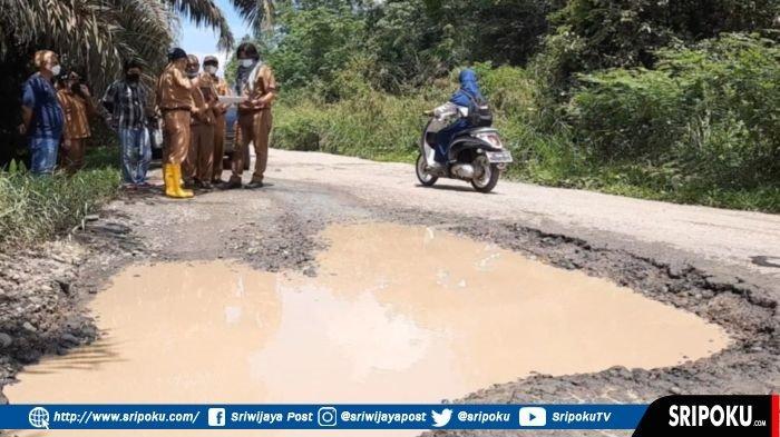 Pemkab Musirawas Gelontorkan Dana Rp14,5 Miliar untuk Perbaikan Jalan Megang Sakti yang Rusak Parah