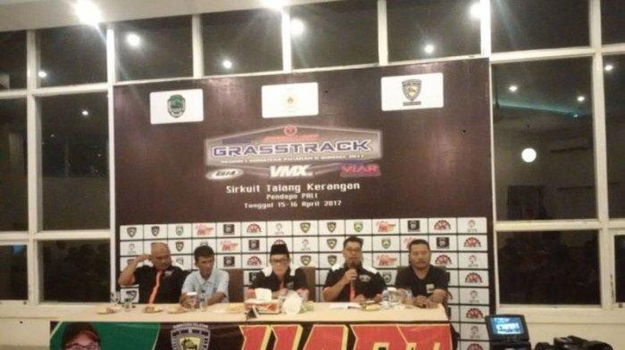 125 Pebalap Ramaikan Kejurnas Grasstrack Region I Sumatera Putaran II di PALI