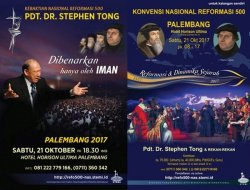Konvensi dan Kebaktian Nasional Reformasi 500 Tahun Hadir di Palembang
