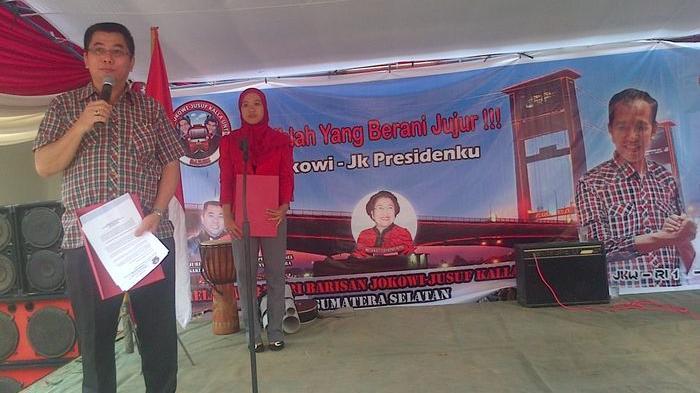 Bajuri Bertekad Menangkan Jokowi-JK dari Maya dan Nyata