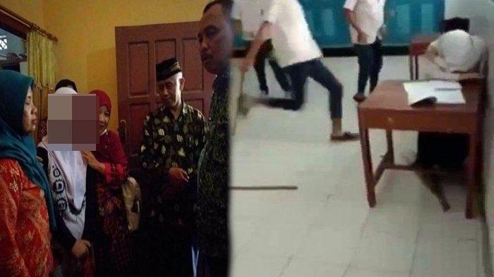 Tangis Pilu Siswi SMP Korban Bully di Purworejo Berkebutuhan Khusus Dipeluk, Pelaku tak Dipenjara