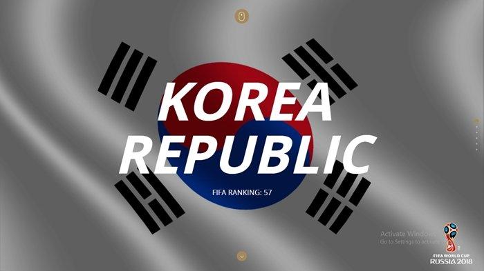 Profil Lengkap Negara Peserta Piala Dunia 2018 Grup F, Korea