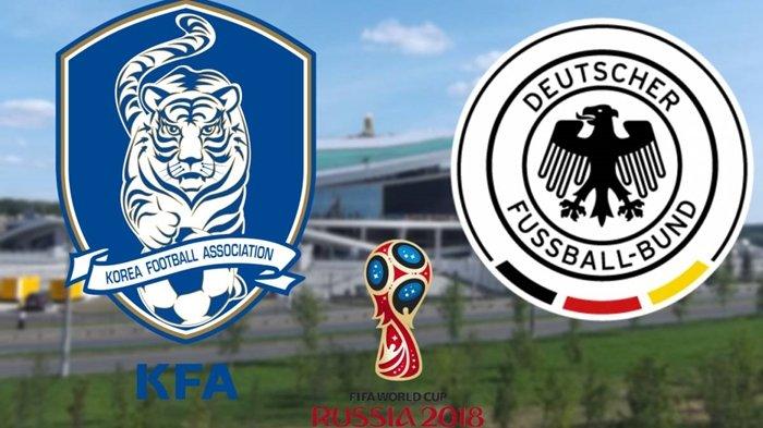 Piala Dunia 2018, Jadwal Siaran Langsung dan Prediksi Pertandingan Korea Selatan vs Jerman