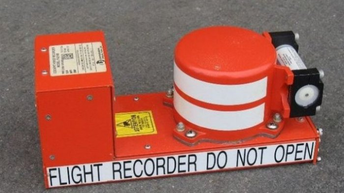 Kotak Hitam atau Black Box Pesawat Sriwijaya Air SJ-182 Ditemukan