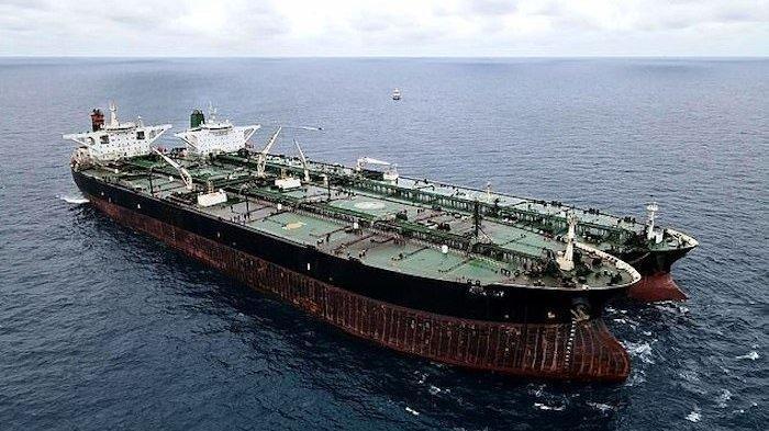 TANPA Bendera dan Matikan Sinyal, Tanker Iran Tansaksi Minyak di Laut Kalimantan: Kepergok TNI AL