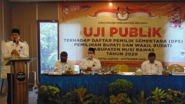 Hasil Uji Publik 592 Pemilih Baru di Musirawas Belum Masuk DPS 328 Pemilih TMS & 7 Pemilih Ubah Data