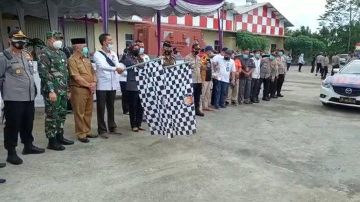 KPU Musirawas Mulai Distribusikan Logistik Pilkada ke 14 PPK
