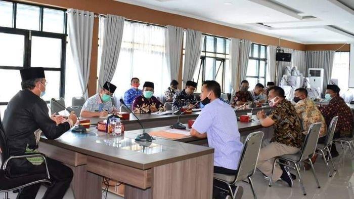 Persiapan Launching Pilkada, KPU Musirawas Audiensi dengan Bupati