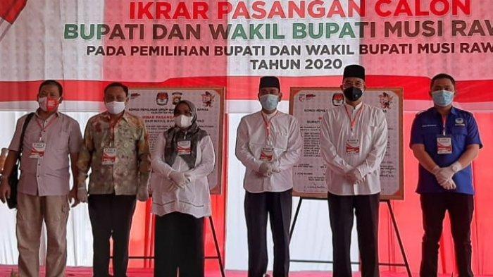KPU dan Polres Mura Gelar Ikrar Paslon Pilkada, Paslon Ikrarkan Siap Menang dan Siap Kalah