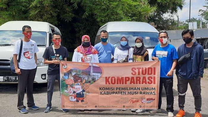 KPU Musirawas Studi Komparasi ke KPU Propinsi Jambi dan Sumbar