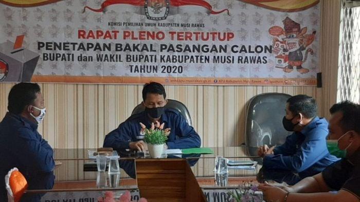KPU Musirawas Tetapkan Paslon Hendra Gunawan - Mulyana dan Ratna Mahmud - Hj Suwarti