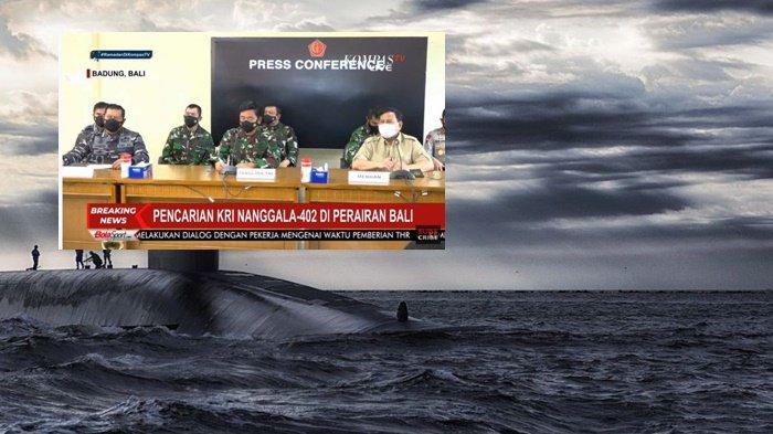 KRI Nanggala 402 Diduga Tersesat, Komandan Kapal Selam Nuklir Inggris Ungkap Kerumitan Laut Bali