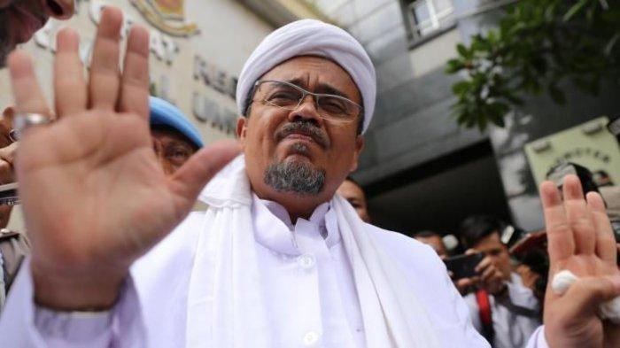 'INI Hak Saya untuk Bicara,' Rizieq Shihab Kembali Murka, Tunjuk Wajah JPU Bima Arya Dituding Bohong
