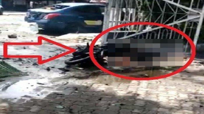 Rumah Pelaku Insial L Bom Gereja Makassar Digeledah Tim Gegana, Robot Penjinak Bom Ikut Dikerahkan
