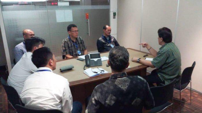 Berita Palembang: Upaya Tingkatkan PAD, Harnojoyo Sambangi KPK bersama Dinas Terkait