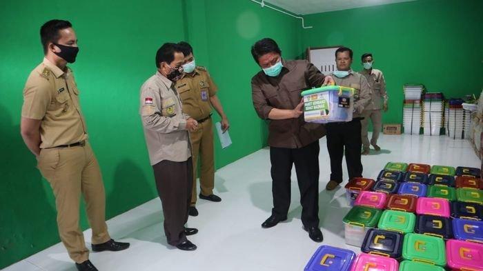 Gubernur Sumsel Kunjungi Baznas dan Bantu Satu Unit Mobil Ambulans, Ini Himbauan Gubernur HD