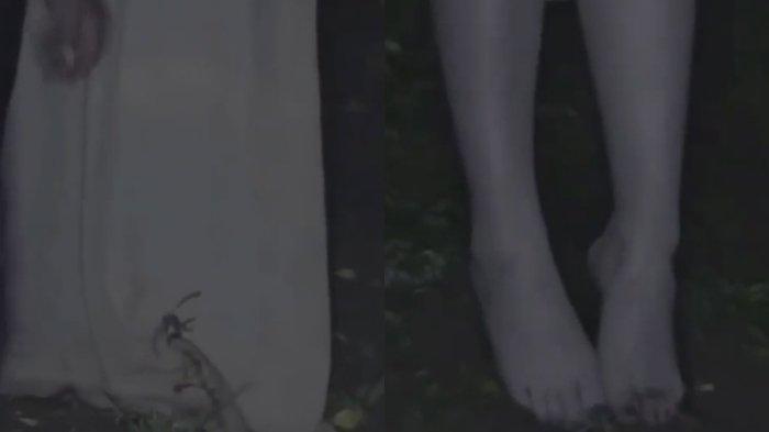 Viral video pembuktian kuntilanak tak menapak tanah