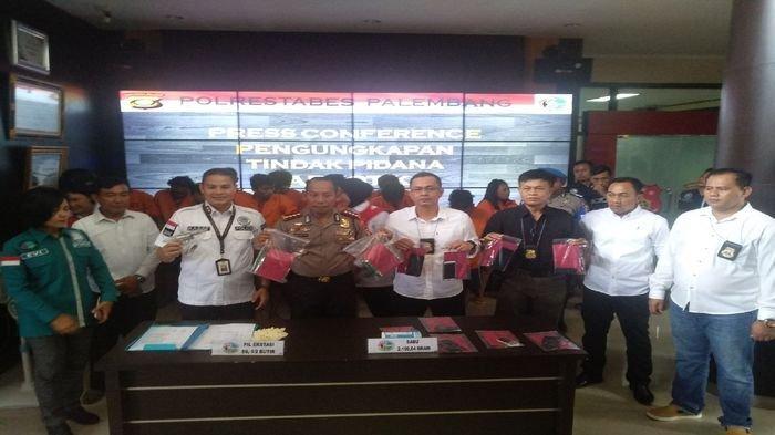 5 Kurir Pembawa Sabu 2 Kg Ditangkap di Palembang, 3 Diantaranya Berstatus Mahasiswa