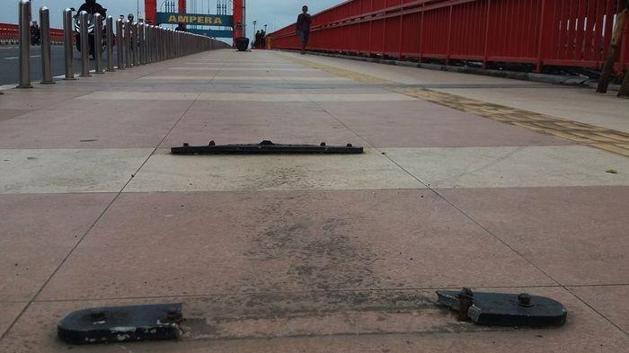 Aksi Vandalisme di Palembang, Besi-Kabel Fasum jadi Incaran