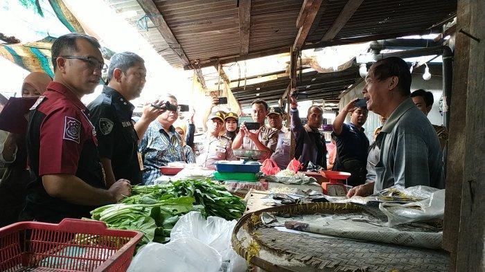 Temukan Penjual Kwetiau Berformalin di Pasar Cinde Palembang, Polda Sumsel Lakukan Pendataan