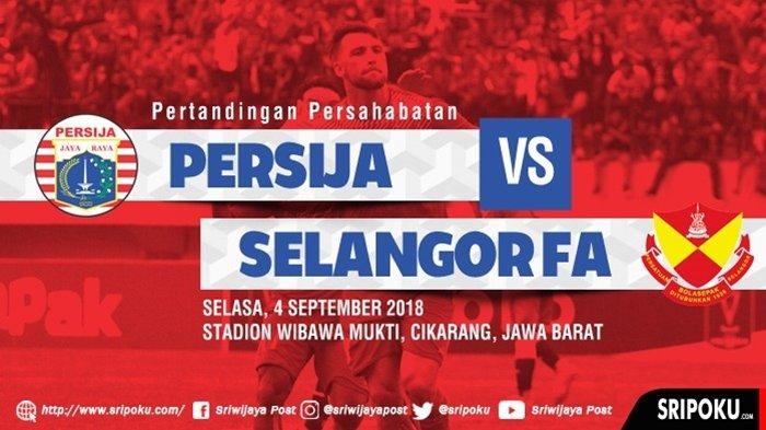 Uji Coba Persija Vs Selangor FA: Sepakan Pinalti Marko Simic Samakan Skor 1 - 1 di Babak Pertama