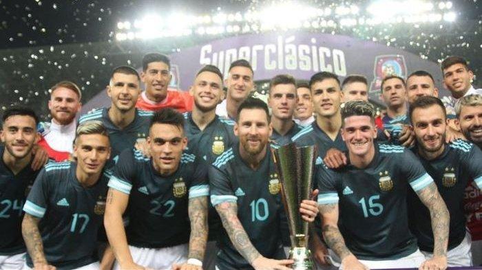 Hasil Brasil Vs Argentina - Comeback Sempurna Lionel Messi Usai Dihukum 3 Bulan
