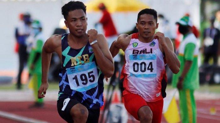 PEMUDA Ini Jadi Manusia Tercepat di PON Papua, Ini Catatan Waktunya pada Nomor Lari 100 Meter