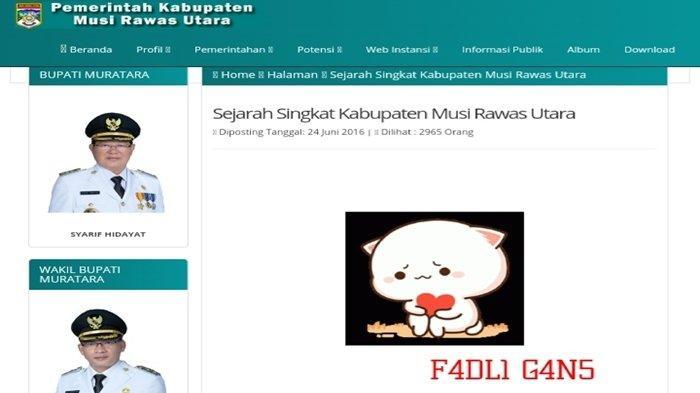 Sudah Dua Kali Diretas, Tim IT Sebut Website Pemkab Muratara Sangat Mudah Dibobol Hacker